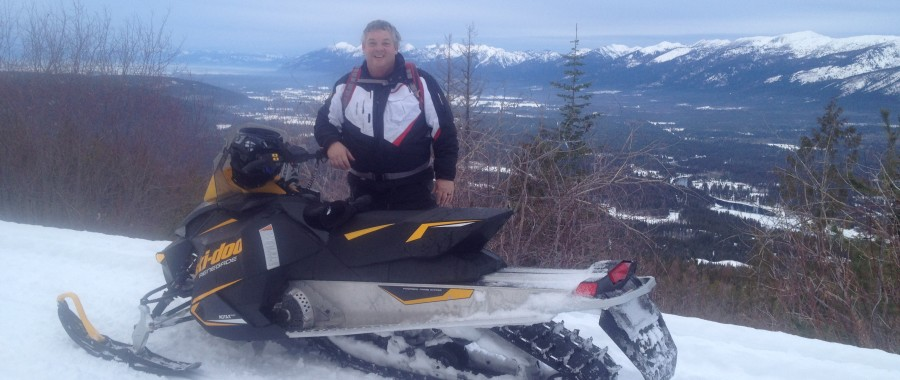 Crane Mountain Guided Snowmobile Tours